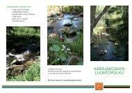 Käräjäkosken luontopolun esite (pdf 647 Kb)