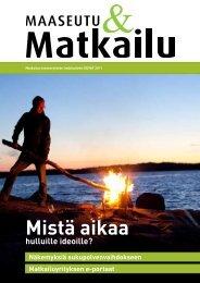MaaseutuMatkailukevät2011 - Maaseutupolitiikka