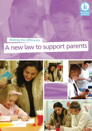 Making The Difference: A New Law To Support Parents