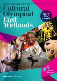 Cultural Olympiad East Midlands - Arts Council England