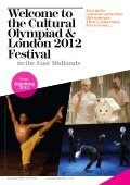 Cultural Olympiad East Midlands - Arts Council England - Page 2