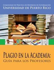 Plagio en la academia - UPRM