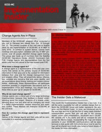 Implementation Insider - October/November 2009 (PDF