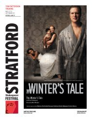 The Winter's Tale - Stratford Festival