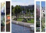 Broschyr med karta om Sundsvalls parker