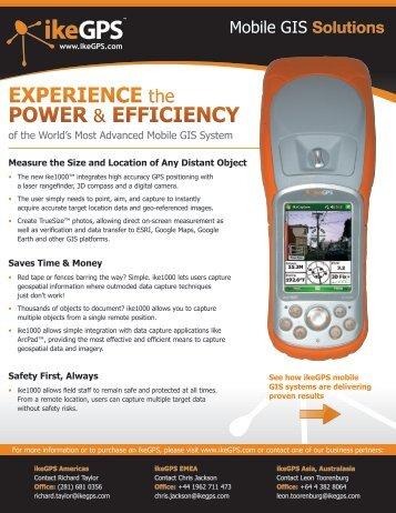 EXPERIENCE the POWER & EFFICIENCY - Surveysoft