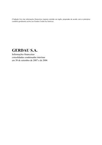 GERDAU S.A.