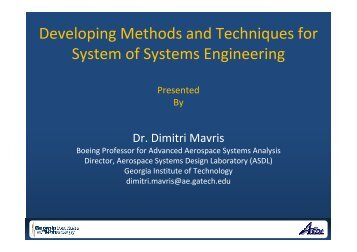 System-of-Systems Engineering - Liophant Simulation