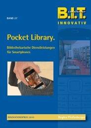 Pocket Library. Bibliothekarische Dienstleistungen für ... - B.I.T.