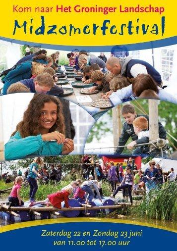Midzomerfestival - Stichting Het Groninger Landschap