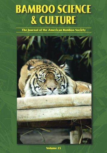 Bamboo Science & Culture .pdf - nerist