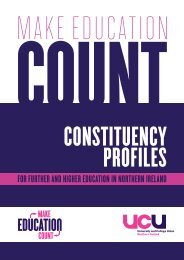 for further and higher education in northern ireland - UCU