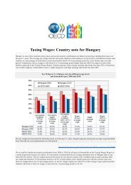 Taxing Wages: Country note for Hungary