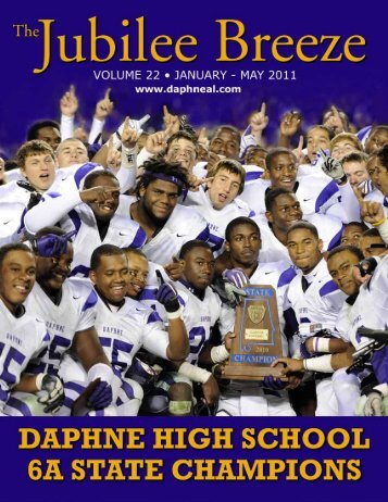 Volume 22 – January to May, 2011 - City of Daphne