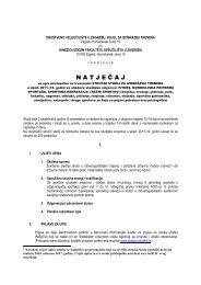 Veleučilište u Zagrebu-Natječaj za upis na stručni studij za ...