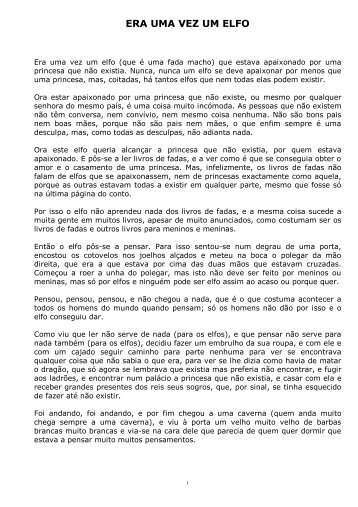 ERA UMA VEZ UM ELFO - Casa Fernando Pessoa