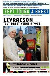 TOUT BREST VIENT À VOUS - Sept jours à Brest
