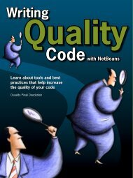 Writing Quality Code with NetBeans
