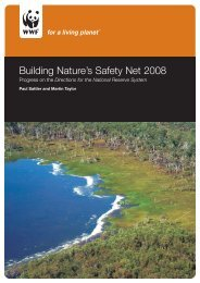 Building Nature's Safety Net 2008: Progress on the - wwf - Australia