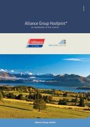 Alliance Group Hoofprint
