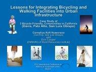 Download Integration of Biking and Walking Facilities into ... - Walk21
