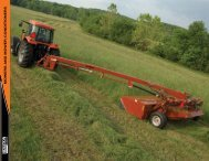 MOWERS AND MOWER-CONDITIONERS - AGCO Iron