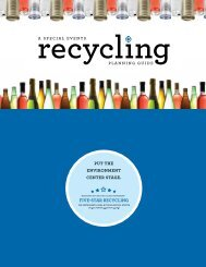 Download the Special Event Recycling Resource ... - Ecology Action