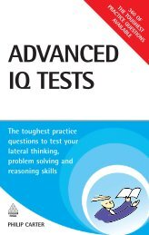 Advanced IQ Tests: The Toughest Practice Questions to Test Your ...