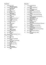 wordlist unit 3 - learnsite