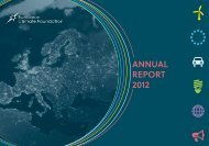 Learn more - European Climate Foundation