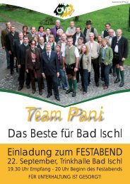 Team Pani - ÖVP Bad Ischl