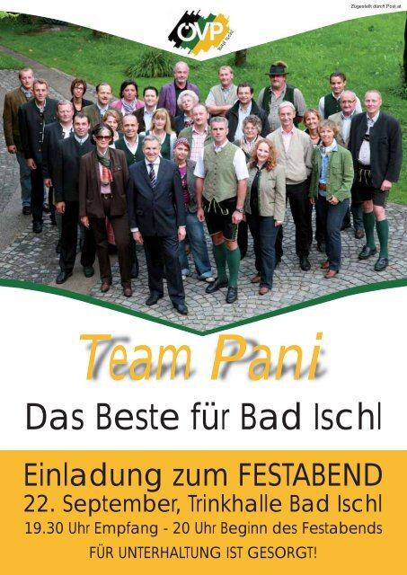 Team Pani - ÖVP Bad Ischl