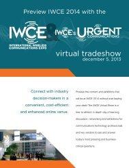 IWCE 2013 Prospectus - International Wireless Communication Expo