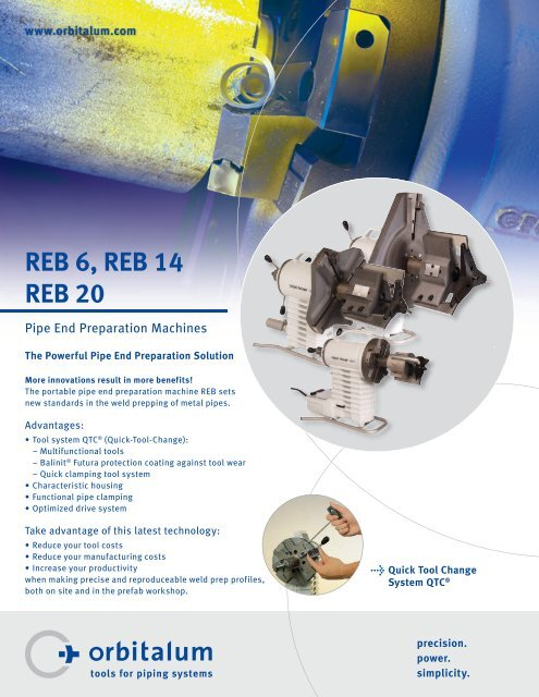 REB 6, REB 14 REB 20 - Technical Tool Solutions