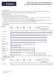 non-ISA application form (PDF, 113KB) - NatWest