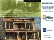 RUE SHEFFORD - Ville de Bromont