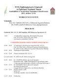 A konferencia hivatalos programja letölthető itt! - Magyar ... - Page 2