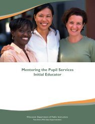 Mentoring the Pupil Services Initial Educator - Student Services ...
