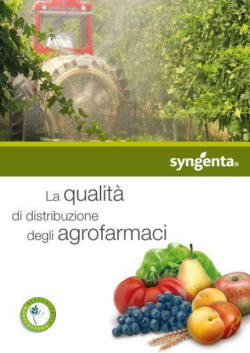 La qualità di distribuzione degli agrofarmaci - Syngenta