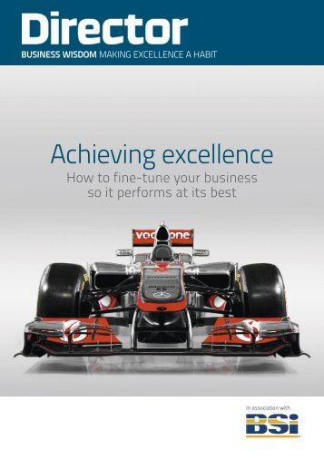 Achieving Excellence Guide - BSI