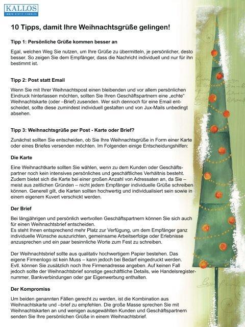 Weihnachtsgrüße Verschicken Mit Email.10 Tipps Damit Ihre Weihnachtsgrüße Gelingen