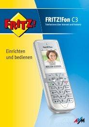 FRITZ!Fon C3 - Sipgate