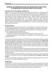 general information rules for review and acceptance of ... - Versita
