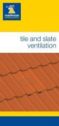 Manthorpe Tile & Slate Ventilation Literature.indd