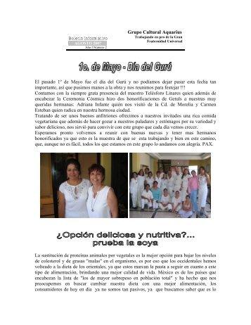 Boletin No. 2, Agosto 7 del 2007