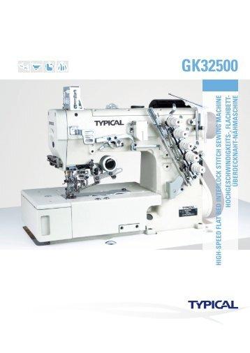 GK32500 - Masini Confectii Textile