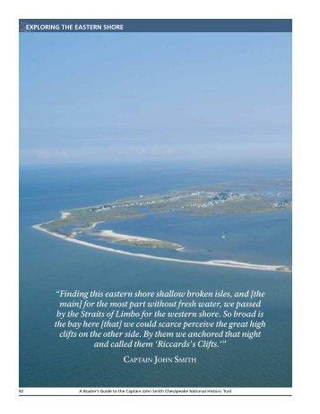 lower eaStern Shore - Captain John Smith Chesapeake National ...