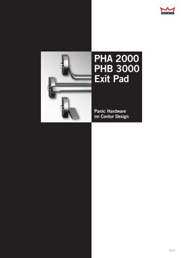 PHA 2000 PHB 3000 Exit Pad