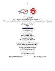 Thursday, 11/Nov/2010 - Working Group for Lipidology, Vascular ...