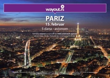 PARIZ 15. februar - Wayout
